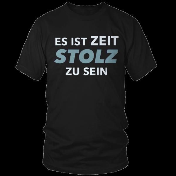 Kerstin Ott - T-Shirt - Es Ist Zeit Stolz Zu Sein (Petrol Edition)