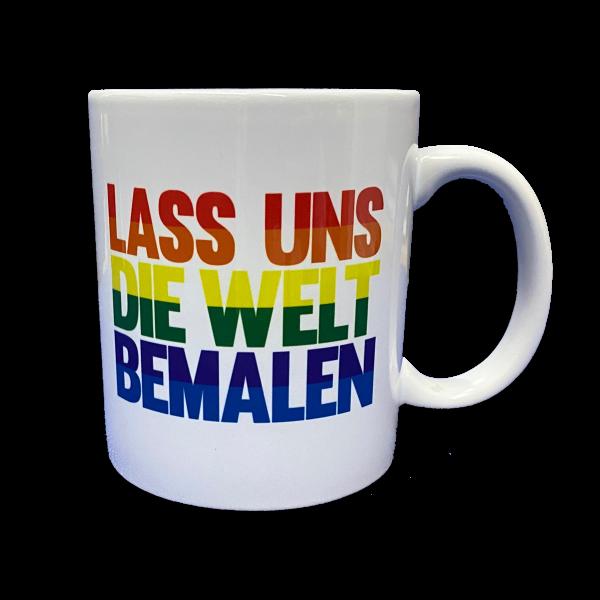 Kerstin Ott - Lass uns die Welt bemalen - Tasse