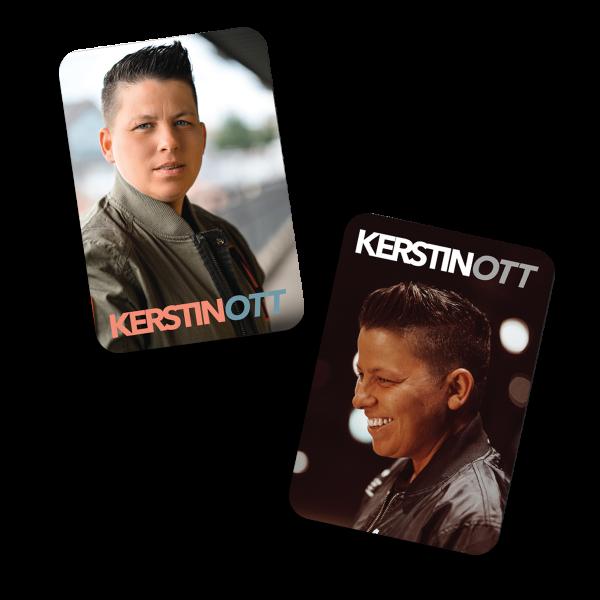 Kerstin Ott - 2er Magnet Set - Schlaflos Edition