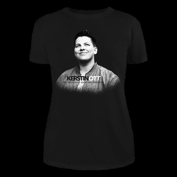 Kerstin Ott - Girlie-Shirt - Ich Krieg Dich Nicht Aus Dem Kopf (schwarze Edition)