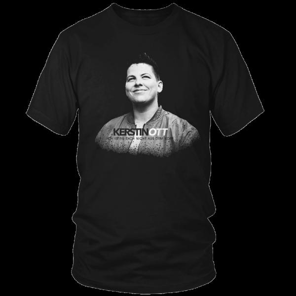 Kerstin Ott - T-Shirt - Ich Krieg Dich Nicht Aus Dem Kopf (schwarze Edition)