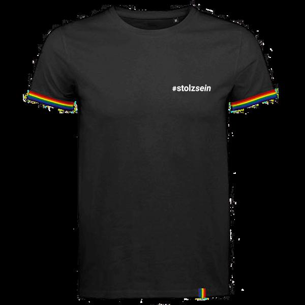 Kerstin Ott - T-Shirt - #stolzsein (Regenbogen Edition)