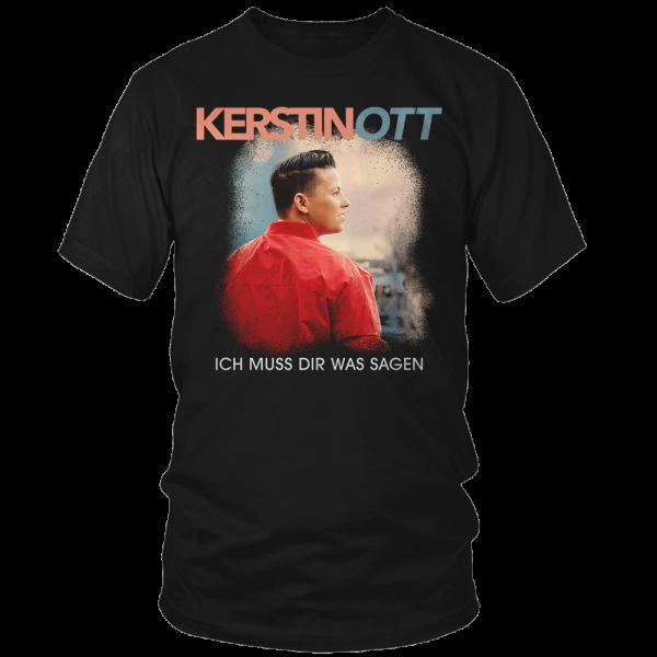 Kerstin Ott - T-Shirt - Ich Muss Dir Was Sagen Cover