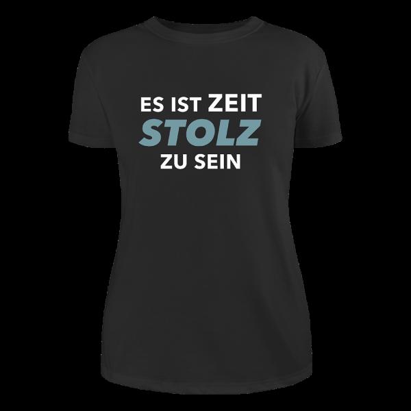 Kerstin Ott - Girlie-Shirt - Es Ist Zeit Stolz Zu Sein (Petrol Edition)